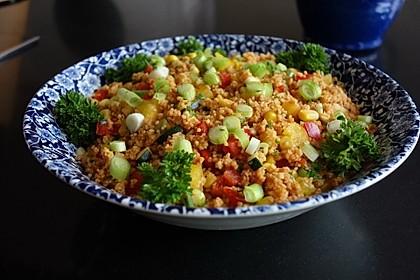Couscous-Salat, lecker würzig 2