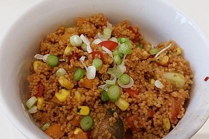 Couscous-Salat, lecker würzig 45