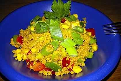 Couscous-Salat, lecker würzig 56