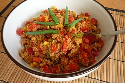 Couscous-Salat, lecker würzig 38