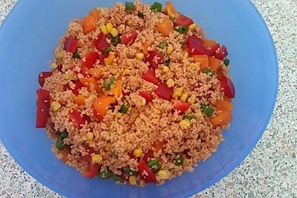 Couscous-Salat, lecker würzig 59