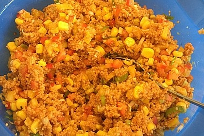 Couscous-Salat, lecker würzig 80