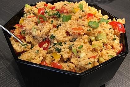 Couscous-Salat, lecker würzig 16
