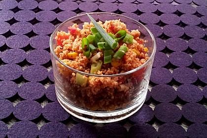 Couscous-Salat, lecker würzig 12