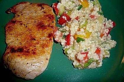 Couscous-Salat, lecker würzig 91