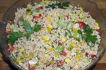 Couscous-Salat, lecker würzig 107