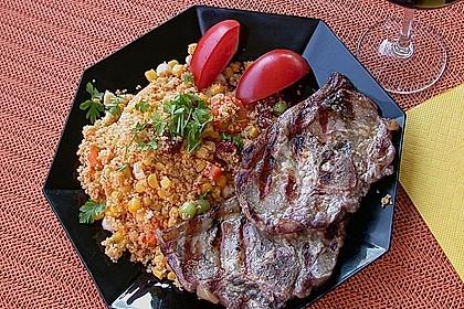 Couscous-Salat, lecker würzig 84