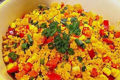 Couscous-Salat, lecker würzig 102