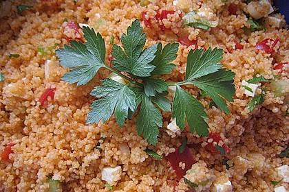 Couscous-Salat, lecker würzig 61