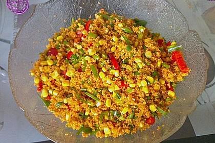 Couscous-Salat, lecker würzig 104