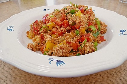 Couscous-Salat, lecker würzig 48