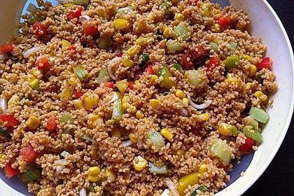 Couscous-Salat, lecker würzig 24