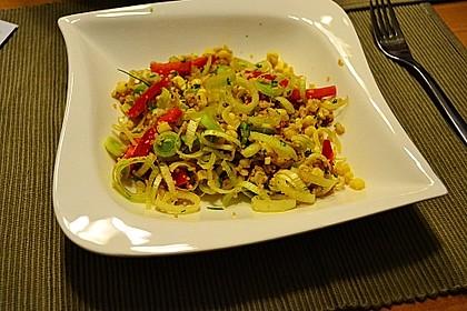 Couscous-Salat, lecker würzig 146