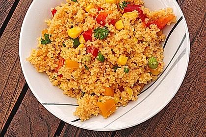 Couscous-Salat, lecker würzig 10