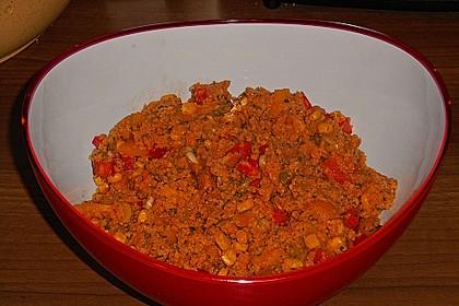 Couscous-Salat, lecker würzig 128