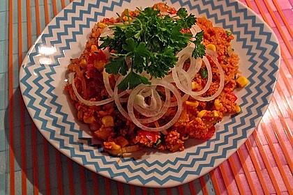 Couscous-Salat, lecker würzig 127