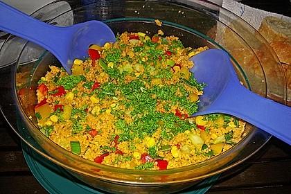Couscous-Salat, lecker würzig 100