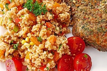 Couscous-Salat, lecker würzig 28