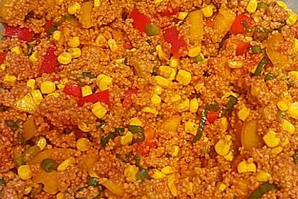Couscous-Salat, lecker würzig 133