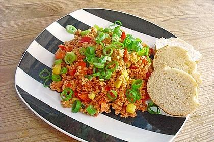 Couscous-Salat, lecker würzig 7