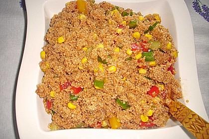 Couscous-Salat, lecker würzig 94