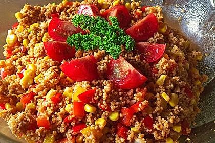 Couscous-Salat, lecker würzig 71