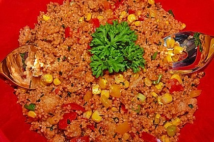 Couscous-Salat, lecker würzig 51