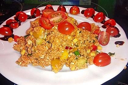 Couscous-Salat, lecker würzig 69