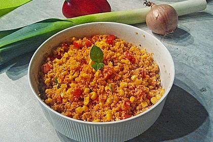 Couscous-Salat, lecker würzig 20
