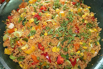 Couscous-Salat, lecker würzig 50