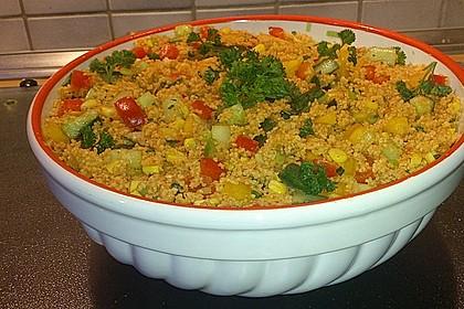 Couscous-Salat, lecker würzig 66