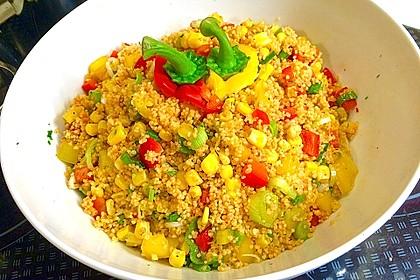 Couscous-Salat, lecker würzig 11