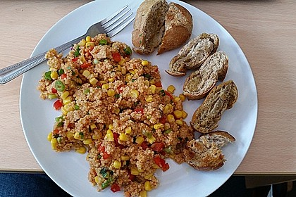 Couscous-Salat, lecker würzig 65