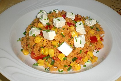 Couscous-Salat, lecker würzig 39