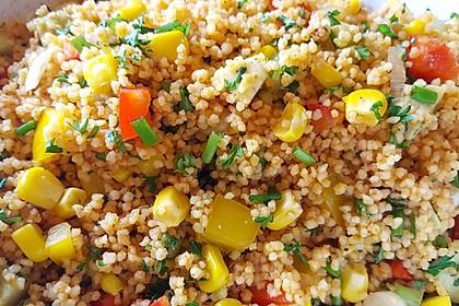 Couscous-Salat, lecker würzig 22