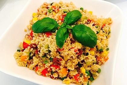 Couscous-Salat, lecker würzig 5