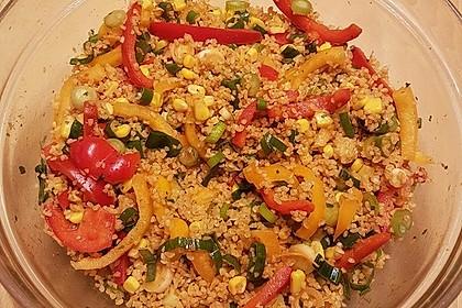 Couscous-Salat, lecker würzig 78