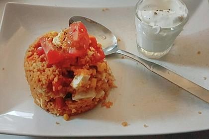 Couscous-Salat, lecker würzig 156
