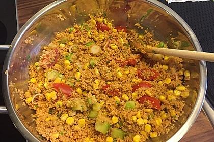 Couscous-Salat, lecker würzig 142