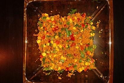 Couscous-Salat, lecker würzig 132