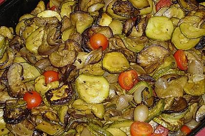 Gegrilltes Zitrus - Gemüse 1