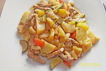 Schnitzelpfanne mit Gemüse 9