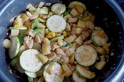 Schnitzelpfanne mit Gemüse 18