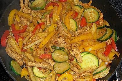 Schnitzelpfanne mit Gemüse 4