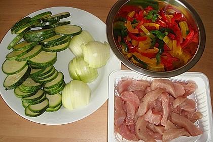 Schnitzelpfanne mit Gemüse 26