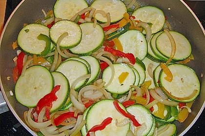 Schnitzelpfanne mit Gemüse 21
