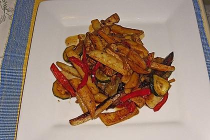 Schnitzelpfanne mit Gemüse 6