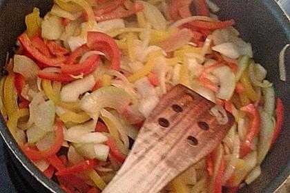 Schnitzelpfanne mit Gemüse 20