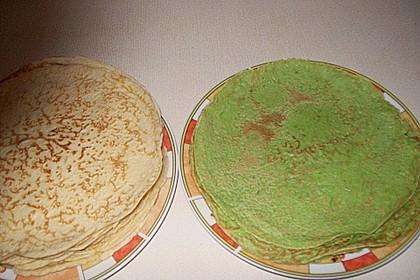 Bärlauch - Pfannkuchen mit Spargel - Schinkenfüllung 31