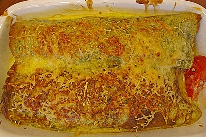 Bärlauch - Pfannkuchen mit Spargel - Schinkenfüllung 20
